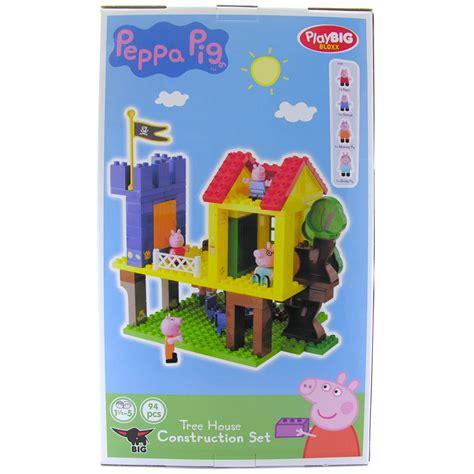 peppa pig tree house peppa pig tree house construction set new ebay
