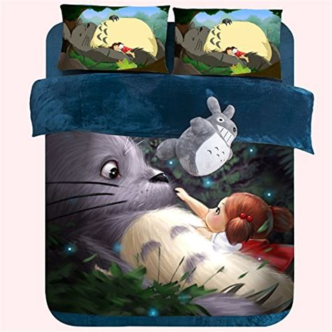 totoro bed set best anime bedding sets for teens
