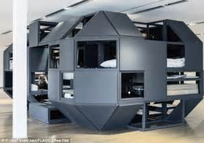 What Is A Captains Bed No Time For Sleep Futuristic Office Allows You To Live