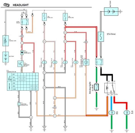 wiring diagram for hid spotlights wiring diagram