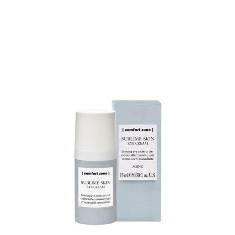 eye comfort eye cream comfort zone sublime skin wellness centro