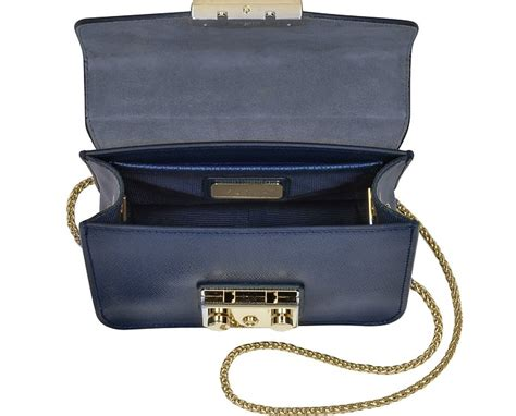 Furla Original Metropolis Navy Furla Metropolis Navy furla metropolis mini navy blue leather crossbody bag in avio blue gold modesens