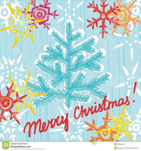 Christmas Greeting Card Postcard Editable Template. EPS 10