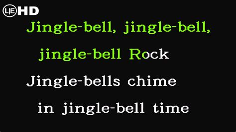 jingle bells swing and jingle bells ring jingle bell rock karaoke instrumental with lyrics hq