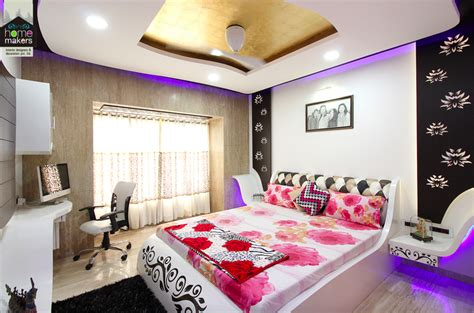 evershine cosmic  master bedroom  home makers interior