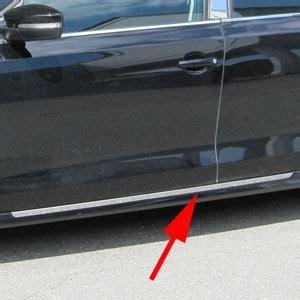 volkswagen jetta chrome rocker panel trim