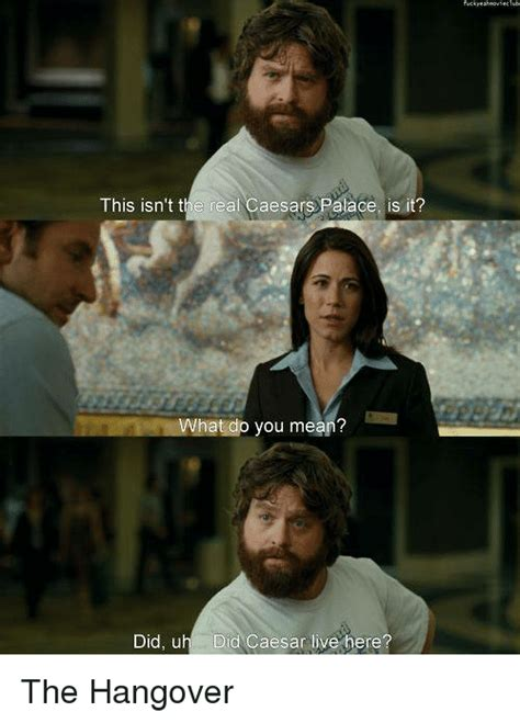 The Hangover Memes - 25 best memes about caesar palace caesar palace memes