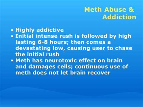 Meth Detox Stages by Meth Workplace Presentation 11 28 06