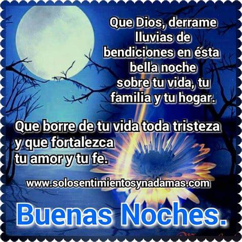 imagenes de buenas noches con bendiciones de dios solo sentimientos y nada mas buenas noches que dios