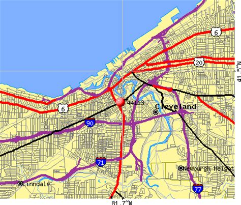 zip code map cleveland 44113 zip code cleveland ohio profile homes