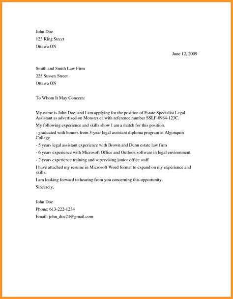 general cover letter to whom it may concern to whom it may concern letter template images template