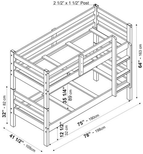 Dimensions Of A Bunk Bed Bunk Bed Dimensions Inspiring With Image Of Bunk Bed Exterior Fresh On Ideas Jpg 500 215 536