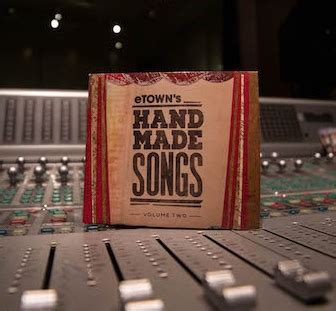 Handmade Songs Album - handmade songs vol 2 cd etown