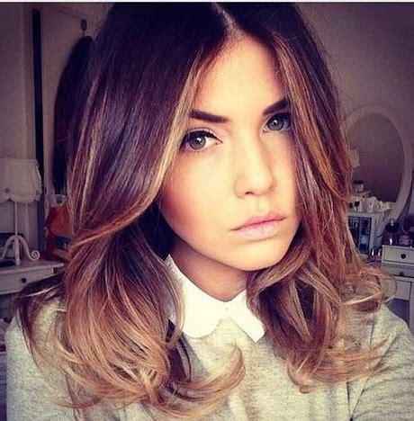 medium haircuts and color medium length hairstyles colors