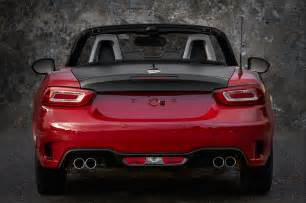 Fiat Abarth Spider 2017 Fiat 124 Spider Abarth Test Review Motor Trend