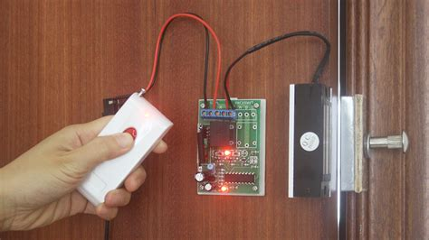 Magnetic Door Lock With Remote by Remote Electromagnetic Lock