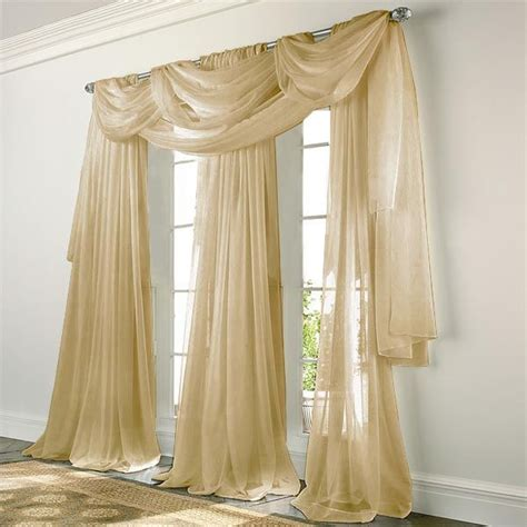 gold window curtains 10 best elegance voile sheers in black white sage green