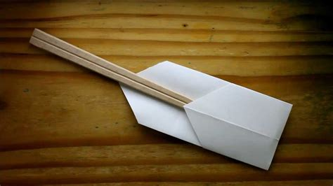 Origami Chopstick Holder - origami chopstick holder the