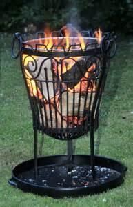Garden Log Burner Garden Outdoor Wrought Iron Lincoln Log Burner Brazier
