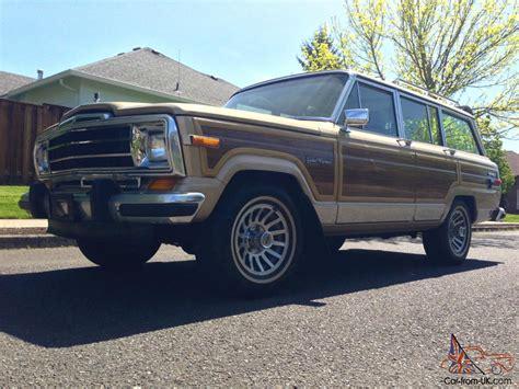 1989 Jeep Wagoneer Value 1989 Jeep Grand Wagoneer Base Sport Utility 4 Door 5 9l