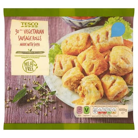 Oriental Decorations For Home tesco 30 vegetarian sausage rolls 600g my vegan supermarket
