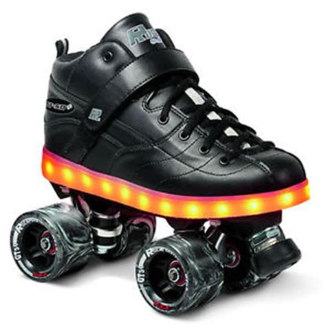 light up rock l rock gt 50 plus light up roller skates