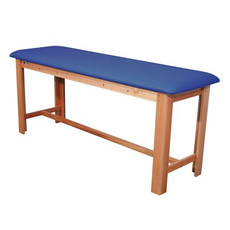 classic treatment table wood treatment tables h brace