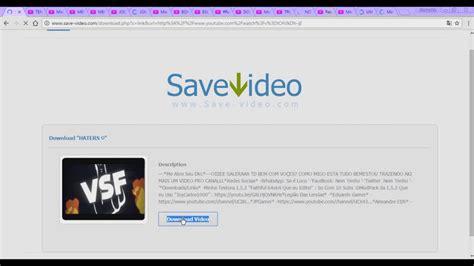 url video max como baixar videos do youtube sem programas youtube