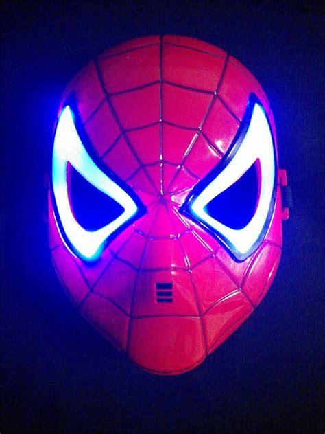 Light Up Mask by New Marvel Mask Helmet Led Light Up
