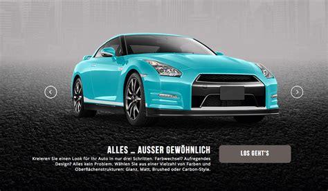 Auto Konfigurator 3d by Autofolien Konfigurator 3d Magazin