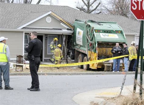 Drove The Garbage Truck dies in collision with house nwadg