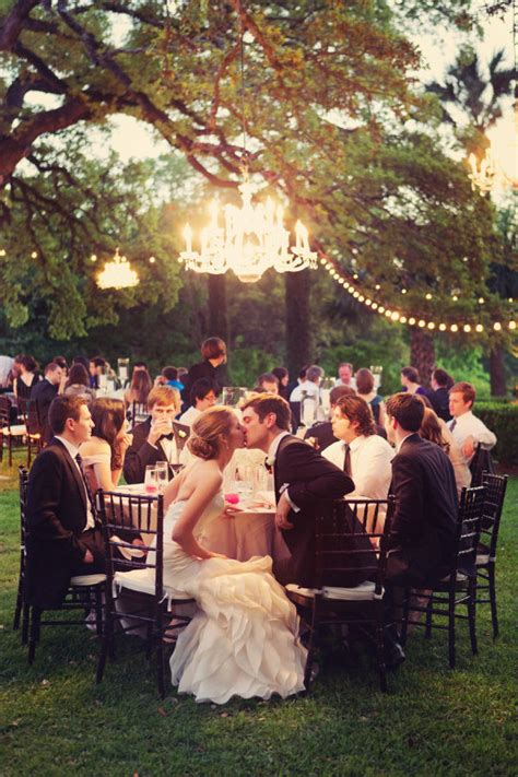 Wedding Ambiance Cool Lighting Inspiration That Will Outdoor Reception Lighting