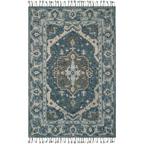 10 Ft Gray Blue Rugs by Safavieh Artisan Gray Blue 8 Ft X 10 Ft Area Rug
