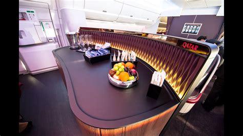 qatar airways doha singapore business class  youtube