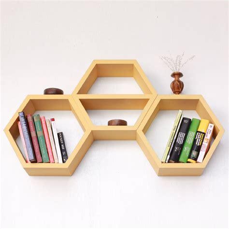 Rak Hexagon nesting hexagon shelves dot and bo furniture