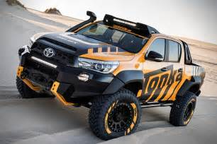 Toyota Concept Truck Toyota Concept Gives The Hilux A Tonka Truck Makeover
