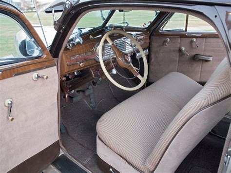 1948 Chevy Interior by Root Float 1948 Chevrolet Fleetline Features