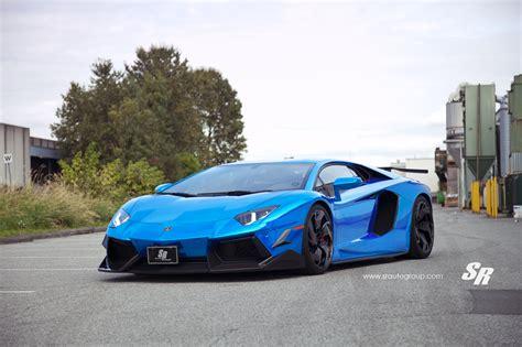 lamborghini aventador blue bright blue lamborghini aventador by sr auto group and pur