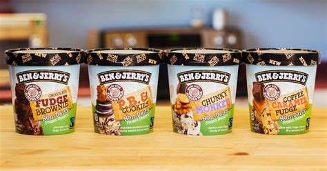 Ben & Jerry?s Unveils Its First Ever Nondairy Ice Creams