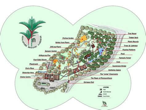 Botanical Garden Location About Singapore City Mrt Tourism Map And Holidays