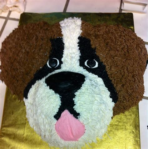st cake st bernard cake cake designs st bernards