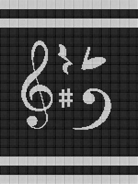 design pattern notes pdf musical notes crochet pattern afghan graph e mailed pdf