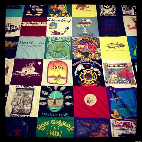 Repat Quilt by Project Repat Recycles T Shirts Into Blankets