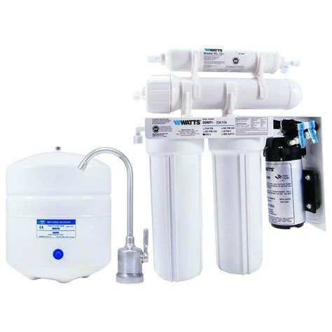 watts zero waste osmosis water filtration system