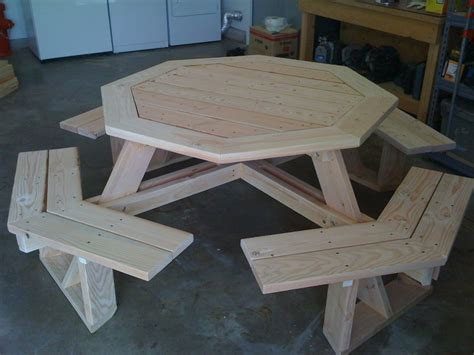 octagon picnic table plans nick april 2015