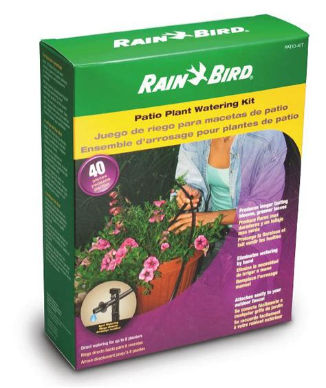 Patio Watering System by Bird Drip Irrigation Patio Plant Watering Kit