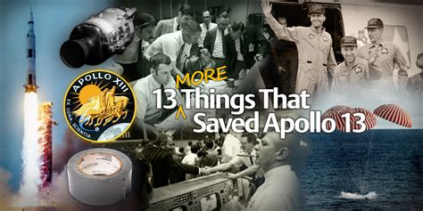 More From 13 by 13 More Things That Saved Apollo 13 Part 3 Detuning The