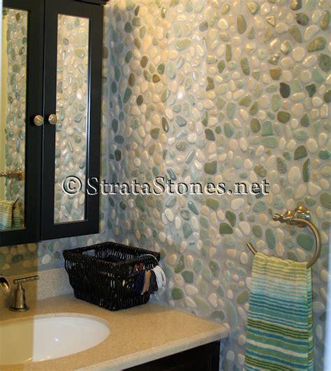 white pebble tiles bathroom bathroom wall tile green and white pebble tile bathroom