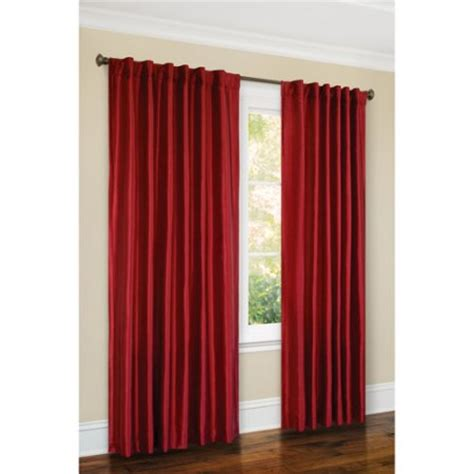 silk canopy bed curtains canopy faux silk thermal interlined curtain panel 54x84
