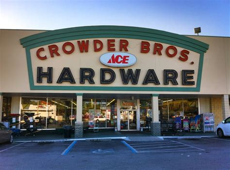 Lu Emergency Ace Hardware crowder brothers ace hardware in lakeland crowder